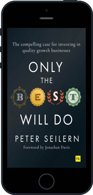 Cover of Only the Best Will Do (Ebook - phone) by Peter Seilern