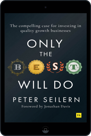 Cover of Only the Best Will Do (Ebook - tablet) by Peter Seilern
