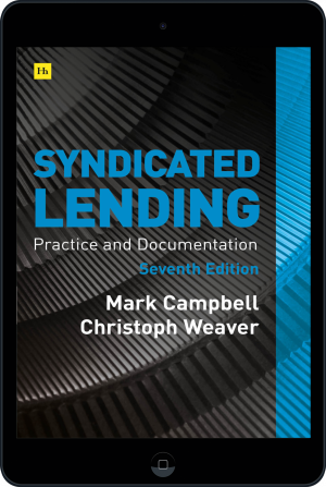 Cover of Syndicated Lending 7th edition  (Ebook - tablet) by Mark Campbell and Christoph Weaver