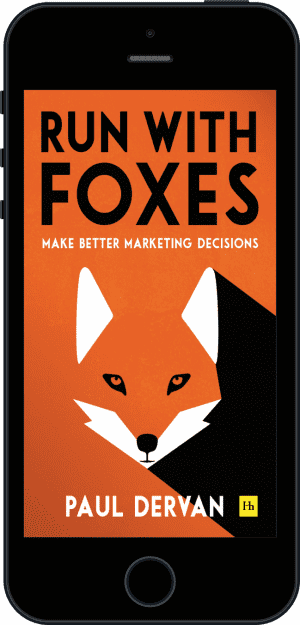 Cover of Run with Foxes (Ebook - phone) by Paul Dervan