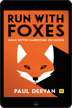 Cover of Run with Foxes (Ebook - tablet) by Paul Dervan