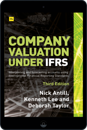 Cover of Company valuation under IFRS - 3rd edition  (Ebook - tablet) by Nick Antill, Kenneth Lee and Deborah Taylor