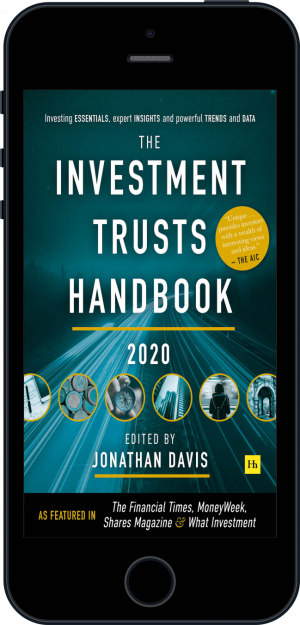 Cover of The Investment Trusts Handbook 2020 (Ebook - phone) by Jonathan Davis