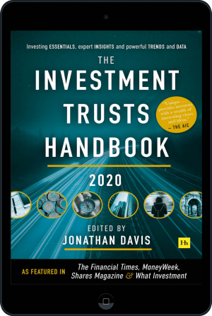 Cover of The Investment Trusts Handbook 2020 (Ebook - tablet) by Jonathan Davis