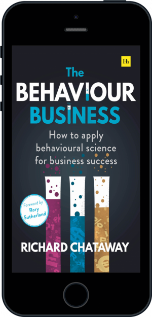 Cover of The Behaviour Business (Ebook - phone) by Richard Chataway