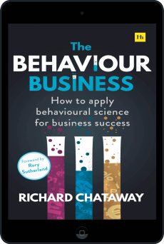 Cover of The Behaviour Business by Richard Chataway