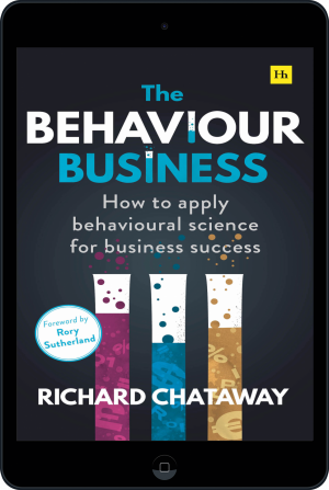 Cover of The Behaviour Business (Ebook - tablet) by Richard Chataway