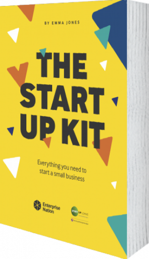 Cover of The StartUp Kit  (Paperback) by Emma Jones