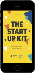 Cover of The StartUp Kit  by Emma Jones