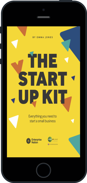 Cover of The StartUp Kit  (Ebook - phone) by Emma Jones