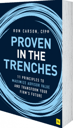 Cover of Proven in the Trenches (Hardback) by Ron Carson