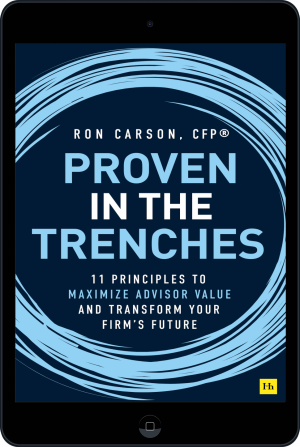 Cover of Proven in the Trenches (Ebook - tablet) by Ron Carson