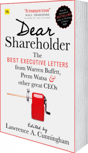 Cover of Dear Shareholder (Paperback) by Lawrence A. Cunningham