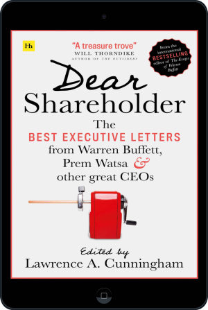 Cover of Dear Shareholder (Ebook - tablet) by Lawrence A. Cunningham