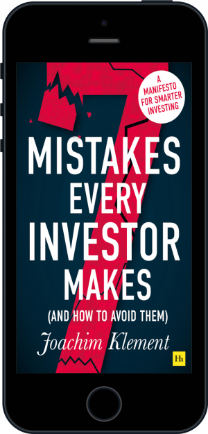 Cover of 7 Mistakes Every Investor Makes (And How To Avoid Them) (Ebook - phone) by Joachim  Klement