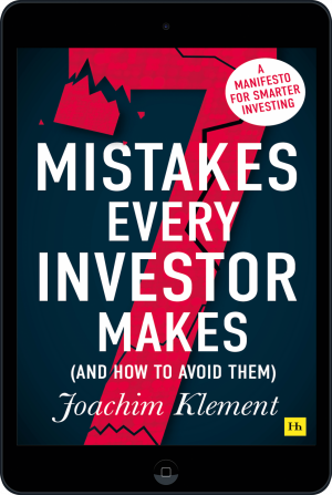 Cover of 7 Mistakes Every Investor Makes (And How To Avoid Them) (Ebook - tablet) by Joachim  Klement