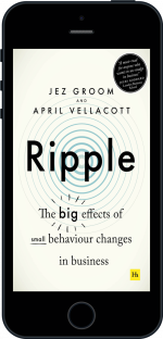 Cover of Ripple by Jez Groom and April  Vellacott