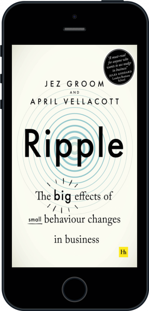 Cover of Ripple (Ebook - phone) by Jez Groom and April  Vellacott