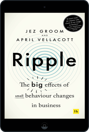 Cover of Ripple (Ebook - tablet) by Jez Groom and April  Vellacott