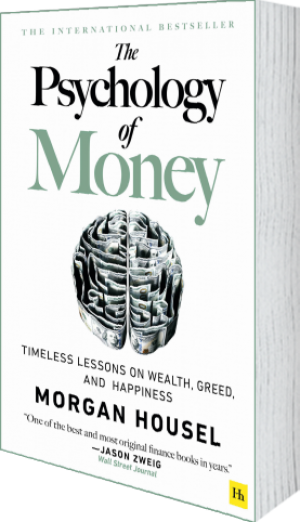 Cover of The Psychology of Money (Paperback) by Morgan  Housel