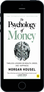 Cover of The Psychology of Money by Morgan  Housel