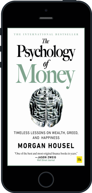 Cover of The Psychology of Money (Ebook - phone) by Morgan  Housel
