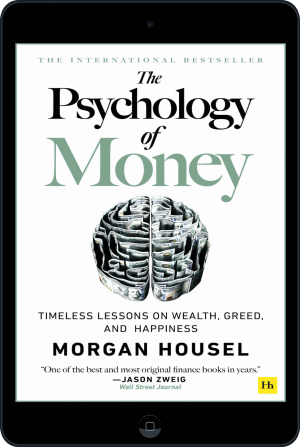 Cover of The Psychology of Money (Ebook - tablet) by Morgan  Housel
