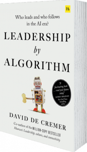 Cover of Leadership by Algorithm by David De Cremer