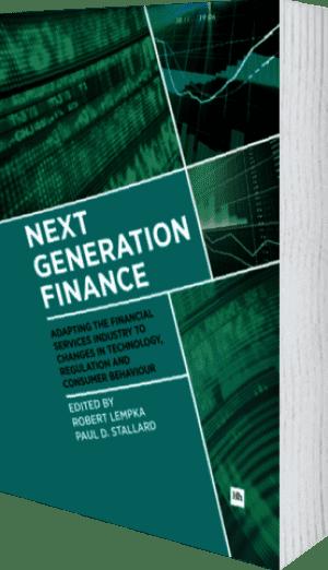 Cover of Next Generation Finance by Paul D. Stallard andRobert Lempka