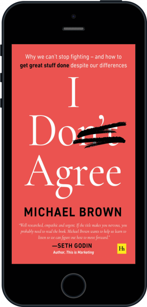 Cover of I Don't Agree (Ebook - phone) by Michael Brown