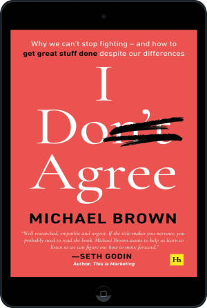 Cover of I Don't Agree (Ebook - tablet) by Michael Brown