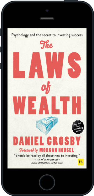 Cover of The Laws of Wealth (paperback) (Ebook - phone) by Daniel Crosby