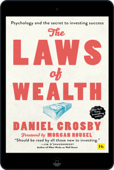 Cover of The Laws of Wealth (paperback) by Daniel Crosby