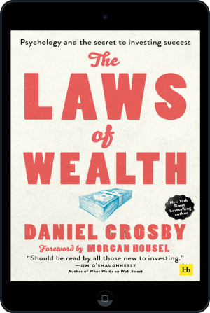Cover of The Laws of Wealth (paperback) (Ebook - tablet) by Daniel Crosby