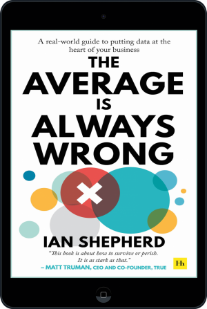Cover of The Average is Always Wrong (Ebook - tablet) by Ian Shepherd