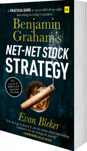 Cover of Benjamin Graham's Net-Net Stock Strategy (Paperback) by Evan  Bleker