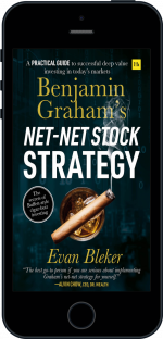 Cover of Benjamin Graham's Net-Net Stock Strategy by Evan  Bleker
