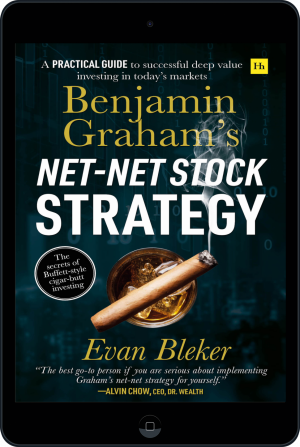 Cover of Benjamin Graham's Net-Net Stock Strategy (Ebook - tablet) by Evan  Bleker