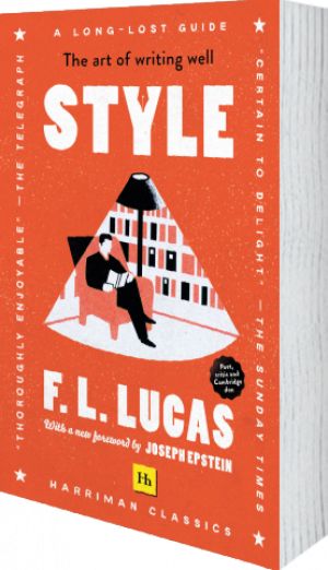 Cover of Style (Harriman Classics) (Paperback) by F. L. Lucas
