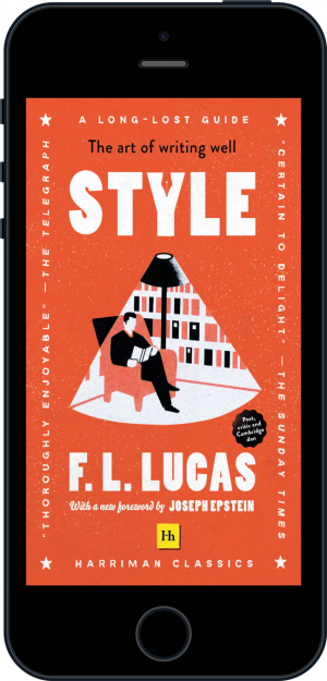 Cover of Style (Harriman Classics) (Ebook - phone) by F. L. Lucas