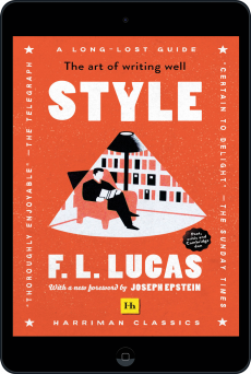 Cover of Style   (Harriman Classics) by F. L. Lucas