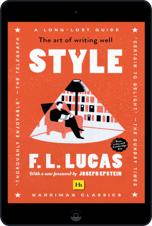 Cover of Style (Harriman Classics) (Ebook - tablet) by F. L. Lucas