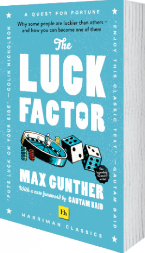 Cover of The Luck Factor (Harriman Classics) (Paperback) by Max Gunther