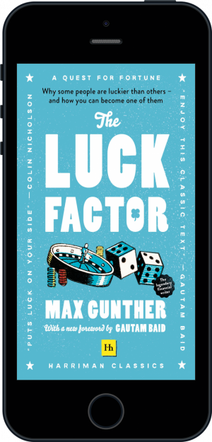 Cover of The Luck Factor (Harriman Classics) (Ebook - phone) by Max Gunther