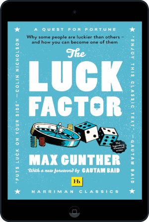 Cover of The Luck Factor (Harriman Classics) (Ebook - tablet) by Max Gunther