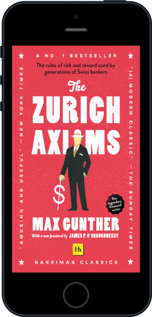 Cover of The Zurich Axioms (Harriman Classics) (Ebook - phone) by Max Gunther