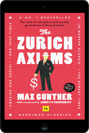 Cover of The Zurich Axioms (Harriman Classics) (Ebook - tablet) by Max Gunther