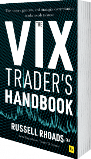 Cover of The VIX Trader's Handbook (Hardback) by Russell Rhoads