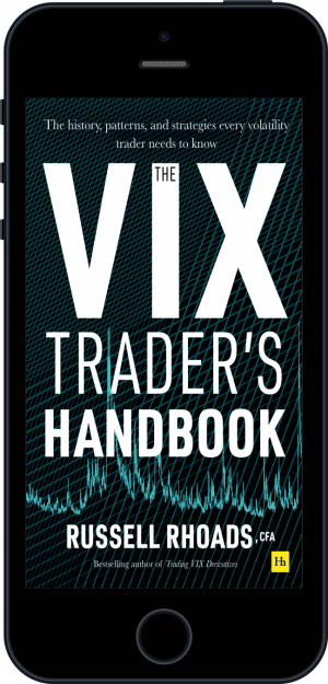 Cover of The VIX Trader's Handbook (Ebook - phone) by Russell Rhoads
