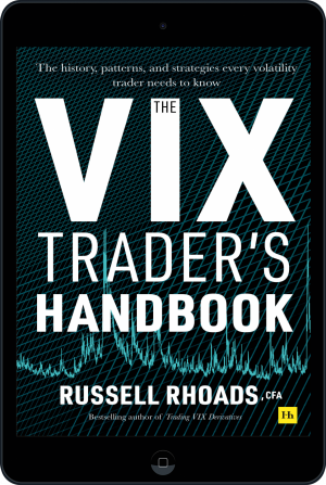 Cover of The VIX Trader's Handbook (Ebook - tablet) by Russell Rhoads